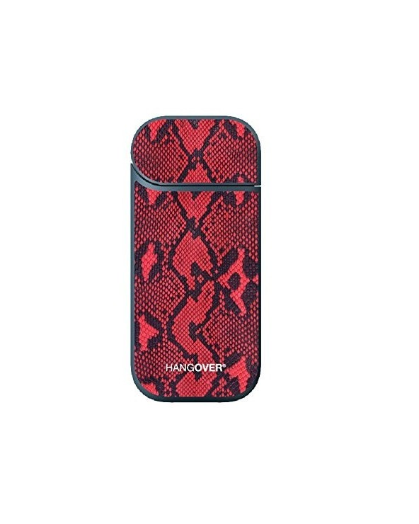 Red Leather - Cover Skin Iqos