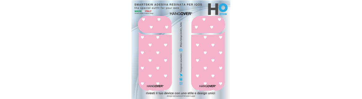 White Hearts - Cover Skin Iqos