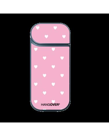 White Hearts - Cover Skin Adesiva in Resina Speciale per Iqos 2.4 e 2.4+