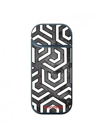 Exagon White - Cover SmartSkin for Iqos