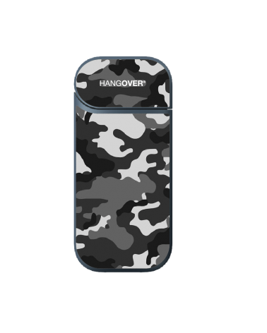 Military Black - Cover Skin in Special Resin for Iqos 2.4 and 2.4+