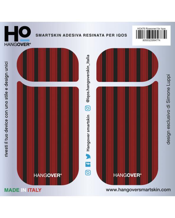 Rossoneri - Cover SmartSkin for Iqos