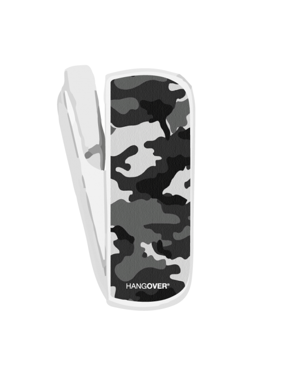 Military Black - SmartSkin in Special Fabric for Iqos 3