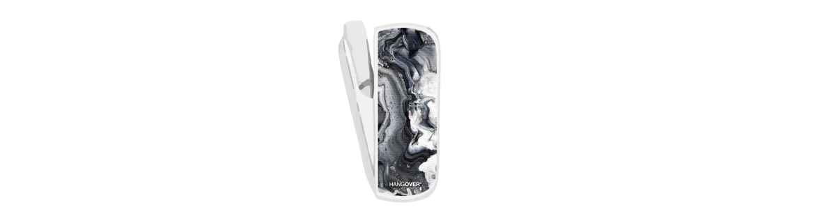 Marble Grey - SmartSkin in Stoffa Speciale for Iqos 3