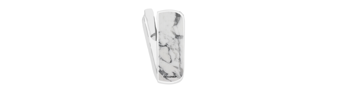 Marble Carrara- SmartSkin in Special Fabric for Iqos 3