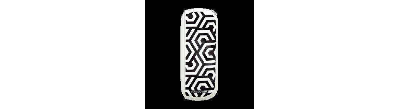 Exagon White - Cover SmartSkin in Tessuto Speciale per Iqos 3 by Hangover