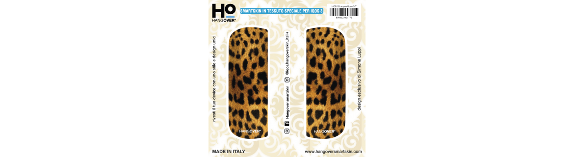 Leopard - Cover SmartSkin in Tessuto Speciale per Iqos 3 by Hangover package