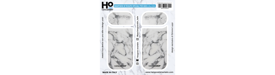 Marble Carrara - SmartSkin in Tessuto Speciale for Iqos 2.4 e 2.4+ package