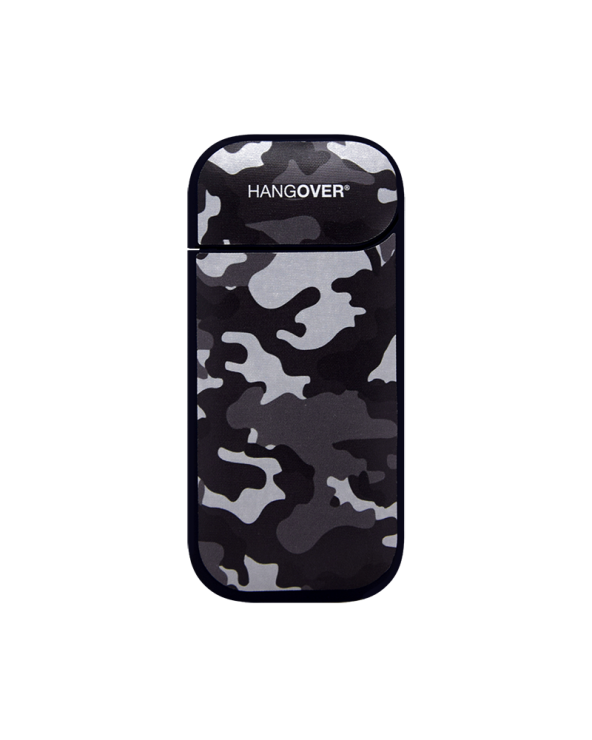 Military Black - Cover SmartSkin in Tessuto Speciale for Iqos 2.4 e 2.4+ by Hangover