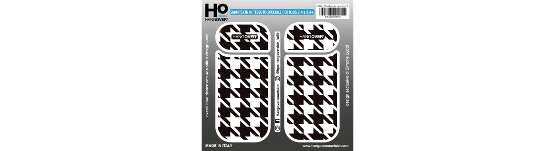 Pieddepoule - Cover SmartSkin in Tessuto Speciale per Iqos 2.4 e 2.4 plus by Hangover box