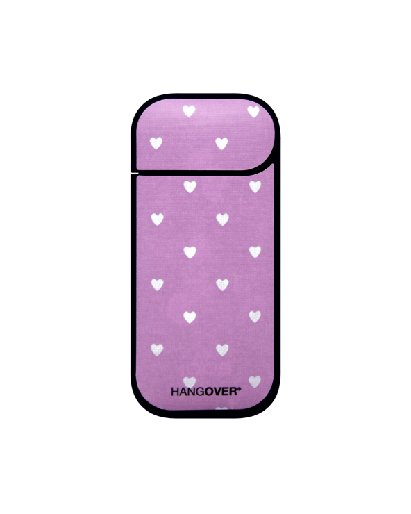 White Hearts - Cover SmartSkin in Tessuto Speciale per Iqos 2.4 e 2.4 plus by Hangover