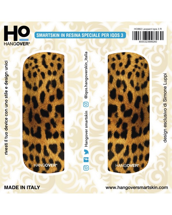 Leopard - SmartSkin in Resina Speciale for Iqos 3 package