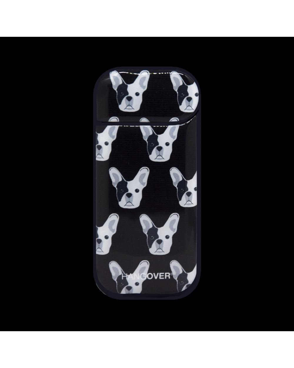 French Bulldog Black- Cover SmartSkin per Iqos 2.4