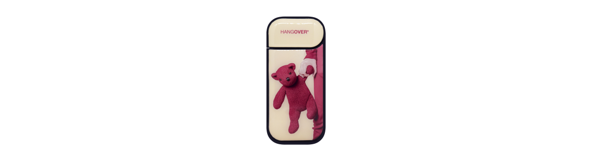 Teddy Bear Rose - Cover SmartSkin Adesiva in Resina Speciale per Iqos 2.4 e 2.4 plus by Hangover