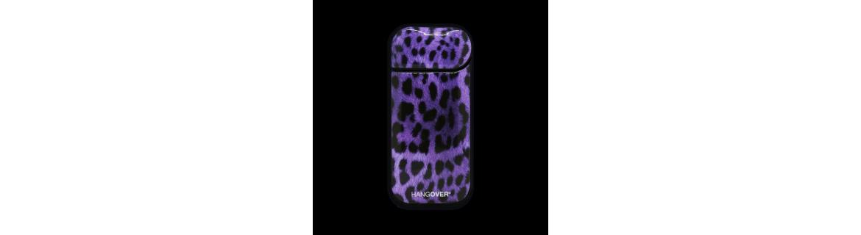 Leopard Violet  - Cover SmartSkin Adesiva in Resina Speciale per Iqos 2.4 e 2.4 plus by Hangover