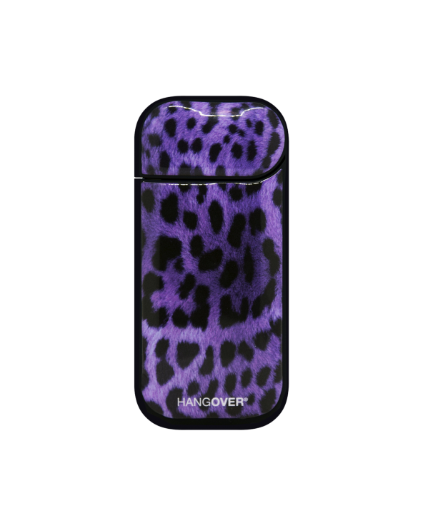 Leopard Violet  - Cover SmartSkin Adesiva in Resina Speciale per Iqos 2.4 e 2.4 plus by Hangover