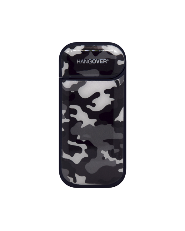 Military Black- Cover SmartSkin Adesiva in Resina Speciale per Iqos 2.4 e 2.4 plus by Hangover