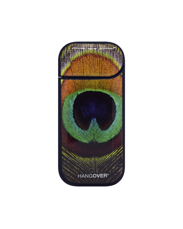 Peacock - Cover SmartSkin Adesiva in Resina Speciale per Iqos 2.4 e 2.4 plus by Hangover retro