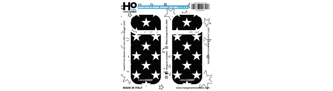 Star Art - Cover SmartSkin Adesiva in Resina Speciale per Iqos 2.4 e 2.4 plus by Hangover package