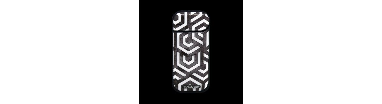 Exagon White - Cover SmartSkin Adesiva in Resina Speciale per Iqos 2.4 e 2.4 plus by Hangover