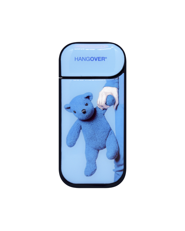 Teddy Bear Blue - Cover SmartSkin Adesiva in Resina Speciale