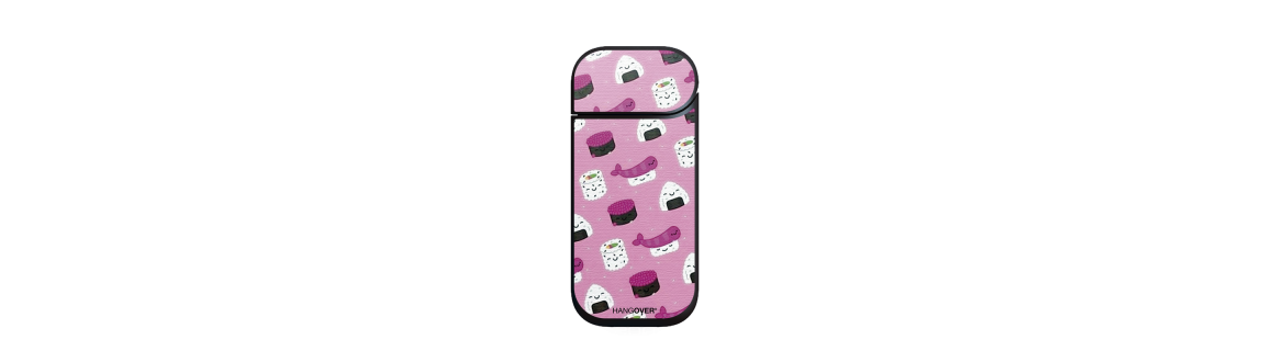 Sushi Art - Cover SmartSkin in Special Textile for Iqos 2.4 e 2.4+